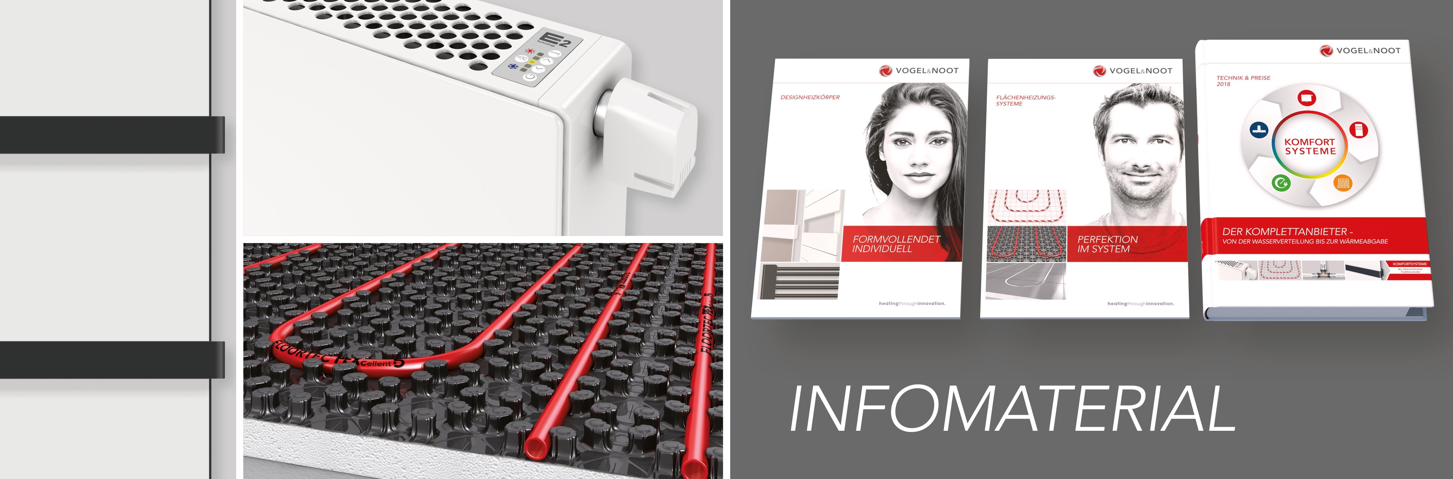 Infomaterial Österreich