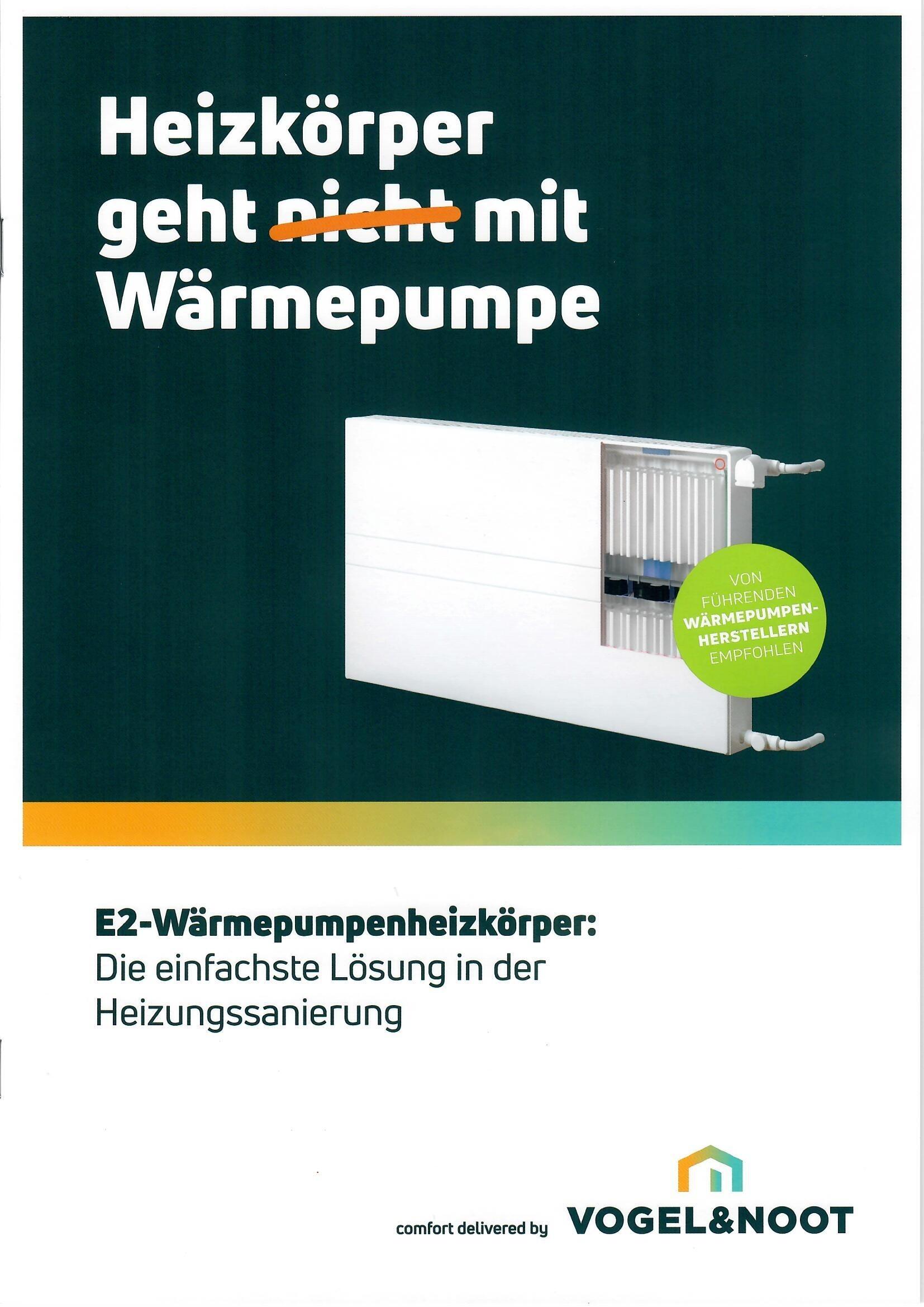 E2-Wärmepumpenheizkörper