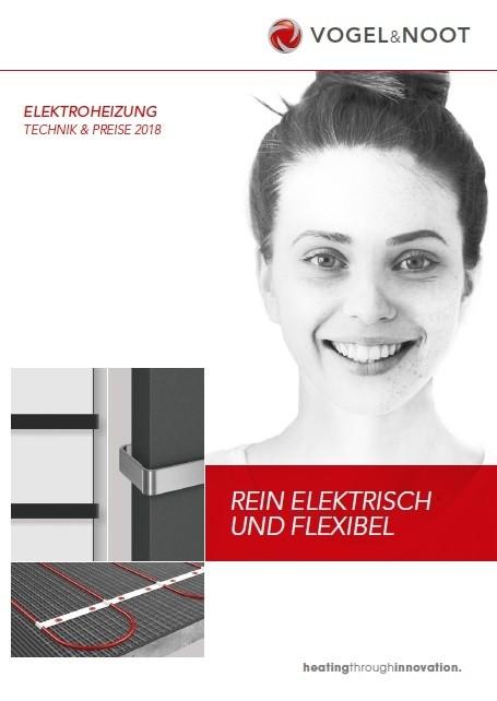 Technik & Preise Elektroheizung 2018
