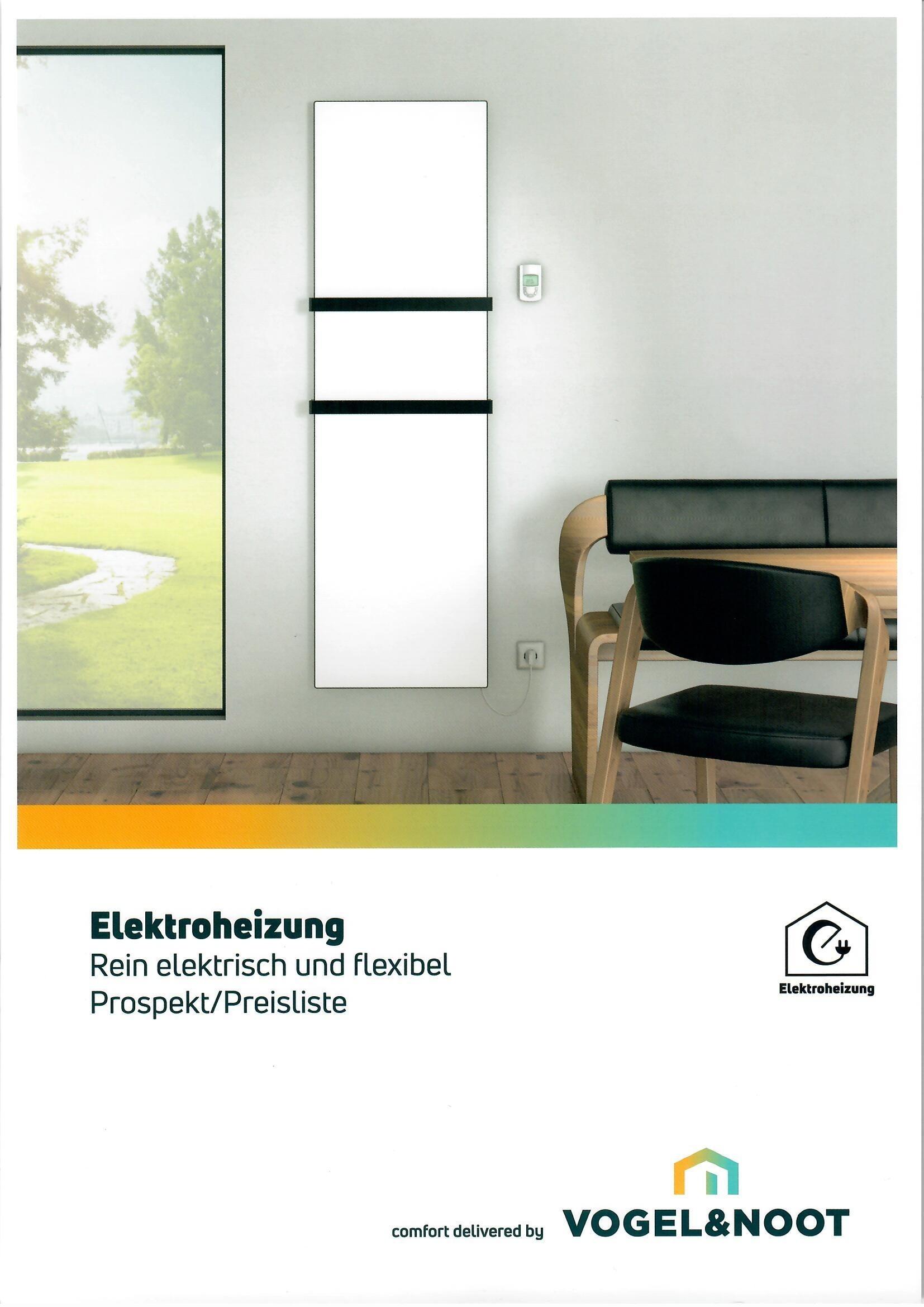 Prospekt eLine Elektroheizung